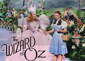 Dorothy and Glinda poster Pictures, Images and Photos